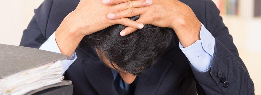 Caída cabello y estrés postvacacional