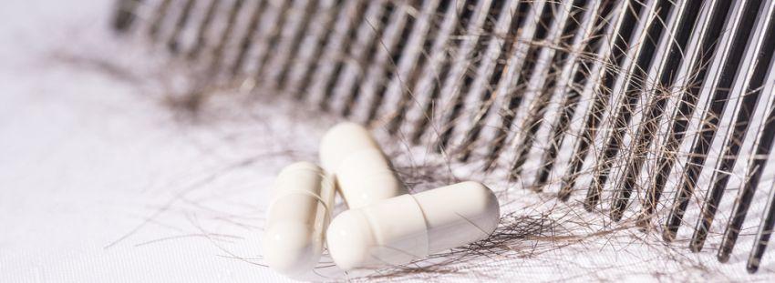 La línea farmacéutica el champú el activador del pies la caída de los cabello